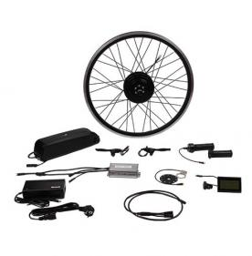 500W rear drive electric bike conversion kit